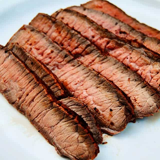 foods that start with l, london broil