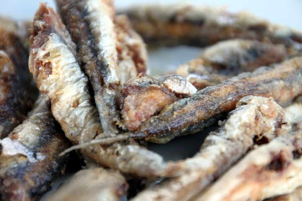 foods that start with a, anchovvy