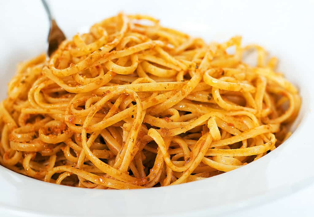 foods that start with l, linguine