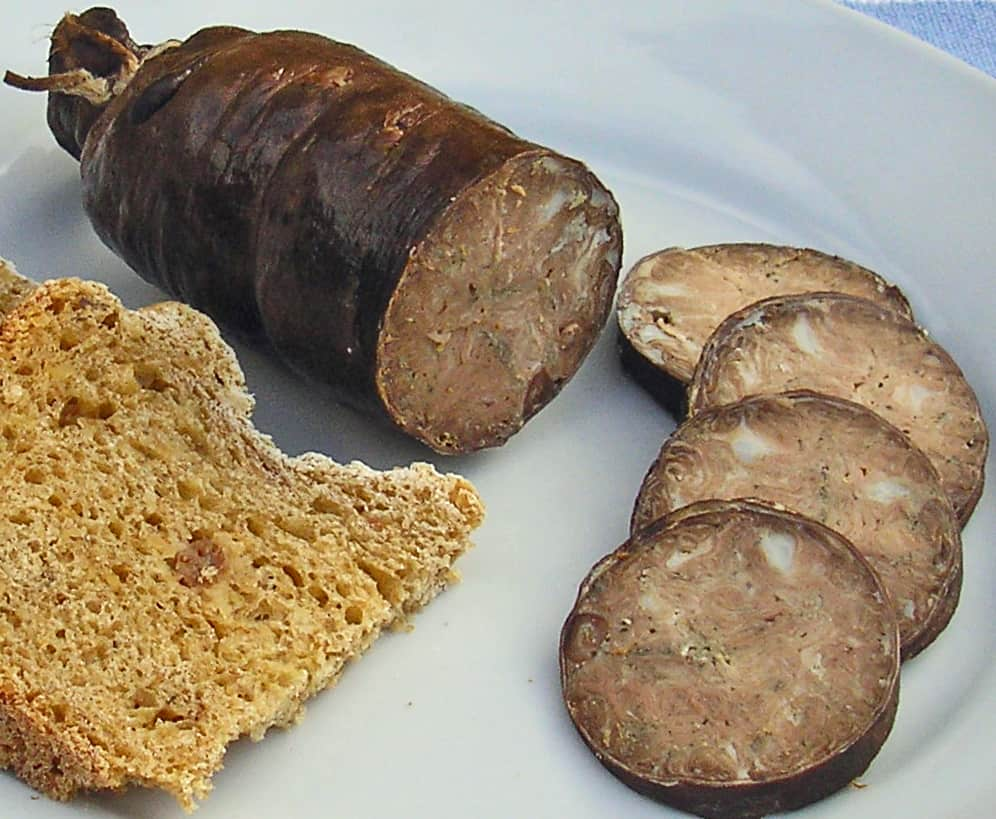 Andouille, Foods that start with A