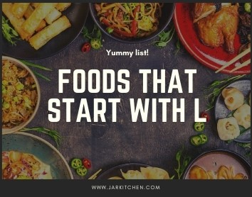 foods that start with l