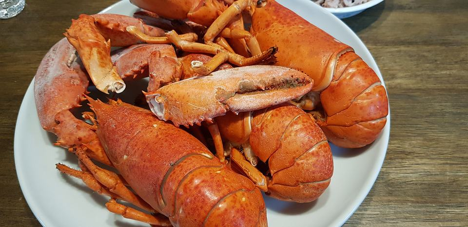 foods that start with l, lobster