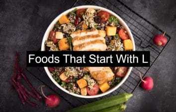 50 foods that start with L