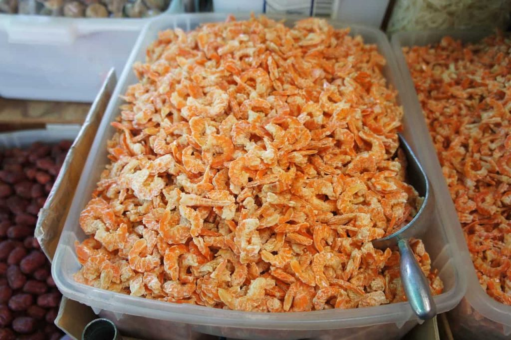 Xia Mi means rice shrimp and they look like deyhdrated red-orange small shrimps