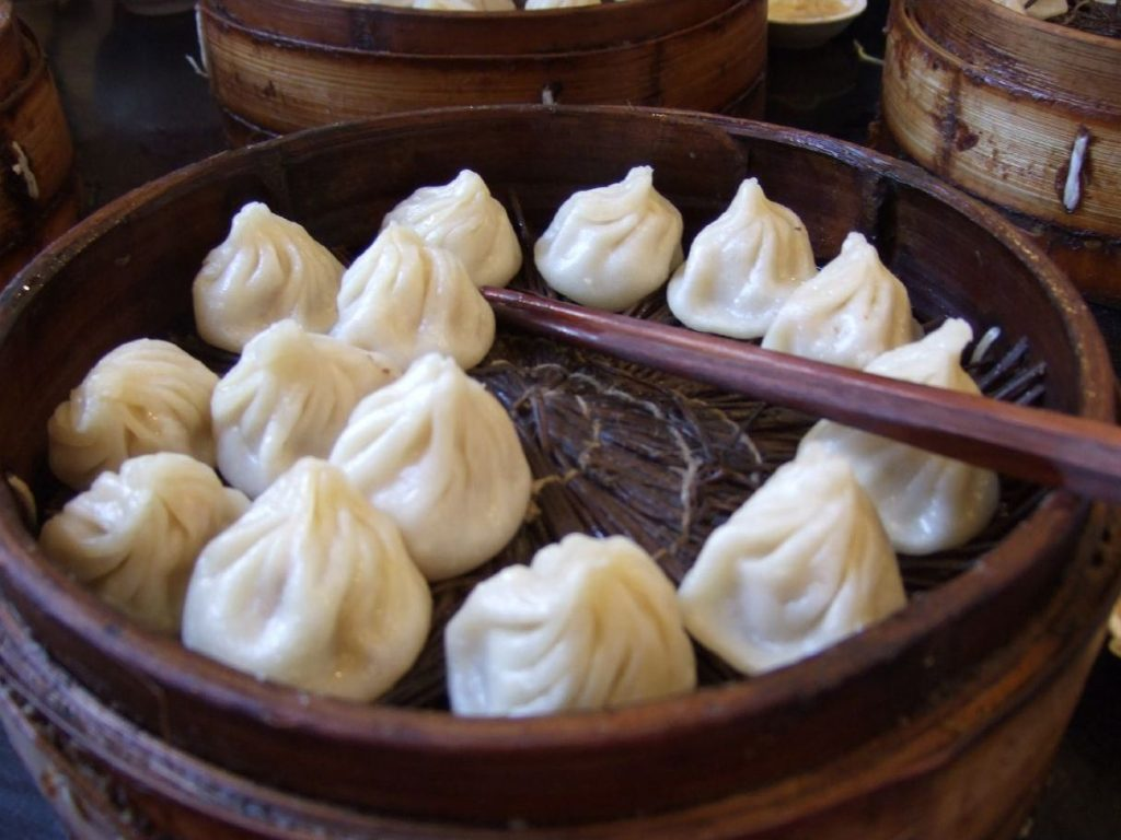Xiaolongbao looks like classical dumplings