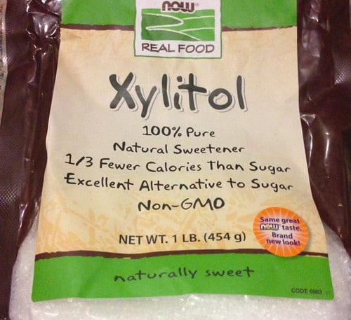 Xylitol is one of the foods that start with X and looks like salt