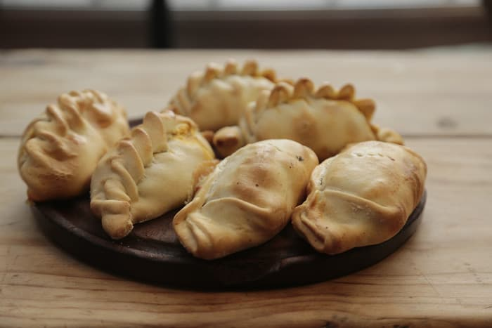 Empanadas are one of the foods that start with E