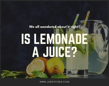 is lemonade a juice