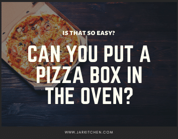 can you pot a pizza box in the oven