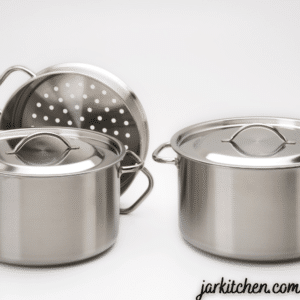 You need to be careful with steel pots before putting them in the oven