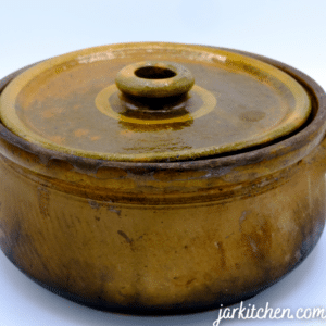A ceramic pot may crack due to extreme heat in the oven